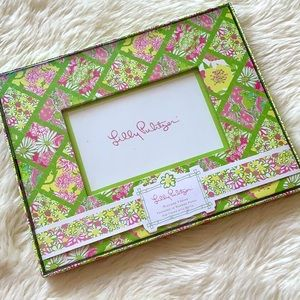 Lilly Pulitzer Bamboo Patch Picture Frame
